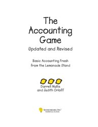The Accounting Game : Basic Accounting Fresh From The Lemonde Stand